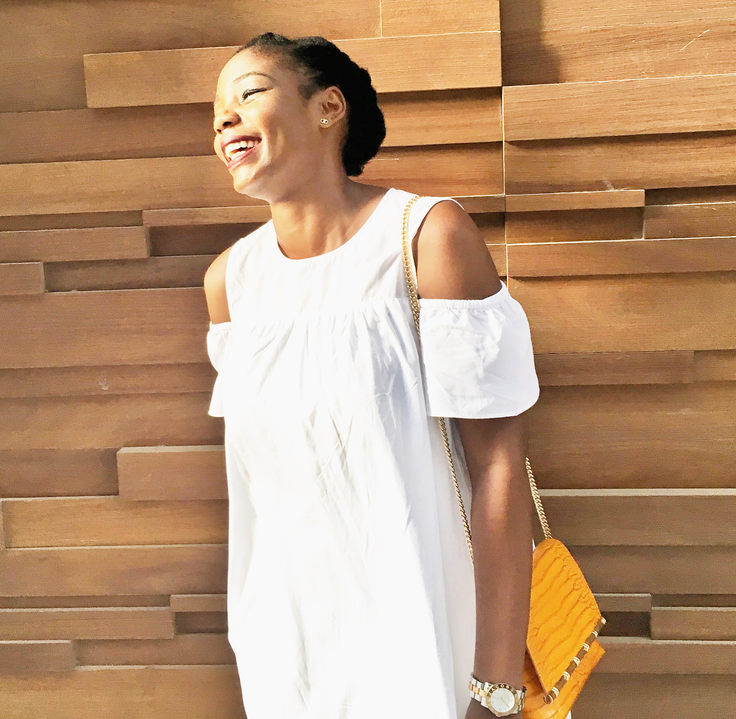 White summer dress| Zara