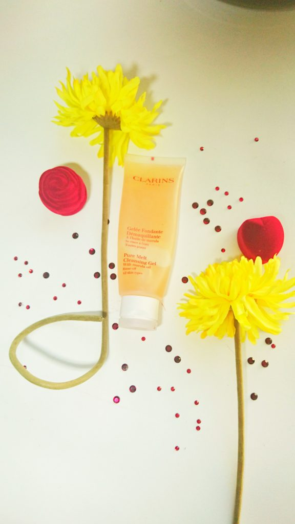 Clarins pure melt cleaning gel